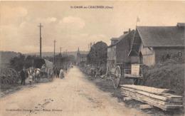 60-SAINT-OMER-EN-CHAUSEE- UNE RUE - France