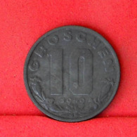 AUSTRIA 10 GROCHEN 1949 -    KM# 2874 - (Nº31661) - Austria