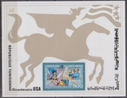 1976Tunisia 896/B15200 Years Of The United States Of America 6,00 € - Tunisia (1956-...)