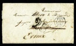 Francia - Carta (año 1850) - Sin Clasificación
