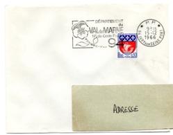 VAL De MARNE - Dépt N° 94  IVRY Sur SEINE PORT 1966 = FLAMME PP Codée = SECAP  ' N° De CODE POSTAL / PENSEZ-Y ' - Zipcode