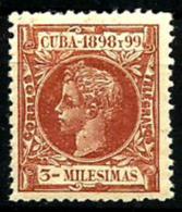 Cuba Española Nº 156 En Nuevo - Kuba (1874-1898)