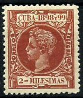 Cuba Española Nº 155 En Nuevo - Cuba (1874-1898)