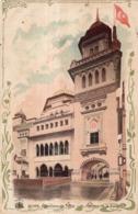 PARFUMERIE LUBIN 11 RUE ROYALE PARIS EXPOSITON DE 1900  PAVILLON DE LA TURQUIE - Werbepostkarten