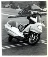 SIDECAR  +-25cm X 20cm  Moto MOTOCROSS MOTORCYCLE Douglas J Jackson Archive Of Motorcycles - Foto