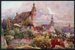 C8895 - TOP Fritz Lach Künstlerkarte - Nibelungenweg - Krems An Der Donau - Kilophot Wien - Otros Ilustradores