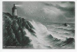The Lighthouse, Douglas Head - G.E. Newton - Tuck 1114 - Isle Of Man