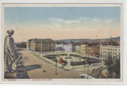 Zagreb Starčevićev Trg Old Postcard Posted 1931 To Gjulaves B191020 - Croatia