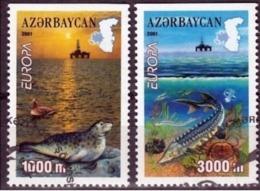 Azerbeidzjan  Europa Cept 2001 Type D Gestempeld Fine Used - Europa-CEPT