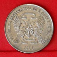 SAINT THOMAS E PRINCIPE 50 DOBRAS 1990 -    KM# 52 - (Nº31682) - Sao Tome And Principe