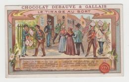 AB254 - CHROMO CHOCOLAT DEBAUVE & GALLAIS - Le Tirage Au Sort - Andere