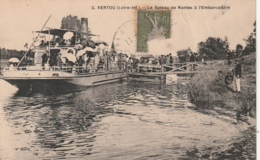 *** 44  ***  VERTOU Le Bâteau De Nantes à L'embarcadère - TTB - France
