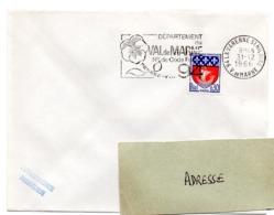 VAL De MARNE - Dépt N° 94  LA VARENNE St HILAIRE 1966 = FLAMME Codée = SECAP  ' N° De CODE POSTAL / PENSEZ-Y ' - Zipcode
