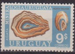 Géologie, Minéralogie - URUGUAY - Minéraux: Agate - N° 835 ** - 1972 - Uruguay