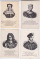 Histoire De France Et Personnages Célèbres - Beau Lot De 120 Cartes Postales Anciennes ND Neurdein Roi Et Reine - Histoire
