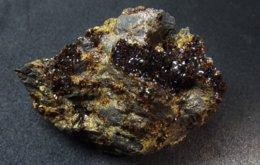 Jarosite With Kamarizaite On Matrix ( 5 X 3 X 2 Cm ) - Soureza Mine N° 36 Kamareza - Attika - Greece - Mineralen