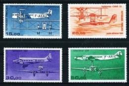Francia Nº A-57/60 (año 1984-1987) Nuevo - Aéreo