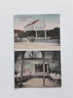 GEKLEURDE POSTKAART GRUB AUS HERBESTHAL HERBESTAL HOTEL BELLEVUE FRITZ BRAUN 1912 - Lontzen