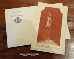 Ariège (09) Catharisme: Monument Souvenir Esclarmonde 1905 - Storia