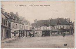 LA LOUPE PLACE DU MARCHE ET RUE DE CHARTRES TBE - La Loupe