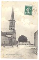 CPA 21 - LES MAILLYS (Côte D'Or) - L'Eglise - ANimée - Autres Communes
