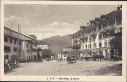 CPA Suisse 515B Charmey La Place CAD Charey Gruyere 6 5 17 Fribourg - FR Freiburg
