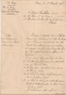 1917 DEMANDE DE PASSAGE DANS INFANTERIE / 10EME REGION PLACE DE DINAN / 30 EME DRAGON / ZOUAVE B1080 - Documents