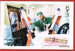 Publicité- Skis Rossignol-  Scratch-   Cpsm- Recto Verso -Paypal Free - Werbepostkarten