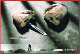 Publicité- Skis Rossignol-  Bandit Bientôt Libre-  Cpsm- Recto Verso -Paypal Free - Werbepostkarten