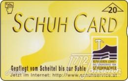 "TWK Österreich Privat: ""Schuh Card"" Gebr. - Oostenrijk"