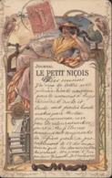 CPA Précurseur Publicitaire Publicité Journal Le Petit Niçois Nice 06 Alpes Maritimes CAD 12 Nov 0? - Werbepostkarten
