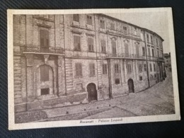 CARTOLINA ANTICA-RECANATI-MACERATA-PALAZZO LEOPARDI-'900 - Otros