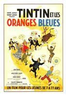 Tintin Et Les Oranges Bleues - Bandes Dessinées