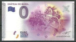 Billet Touristique 0 Euro 2015 Château De MUROL  Cavalier - EURO