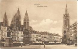 TOURNAI - La Grand'Place - 1910 - Doornik