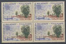 D - [201904]TB//**/Mnh-Madagascar 1962, 50F Foulpointe, Arbres Et Pirogue, BD4, **/mnh - Madagascar (1960-...)