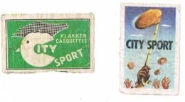 Ardooie: City Sport - Scatole Di Fiammiferi - Etichette