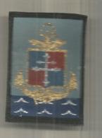 écusson Tissu , Scratch , 9 E Division D'infanterie De Marine , 2 Scans - Scudetti In Tela