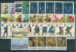 San Marino 1973 Annata Completa/Complete Year MNH/** - San Marino