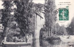 86 - Vienne - L ISLE JOURDAIN - Le Moulin De La Roche - L'Isle Jourdain