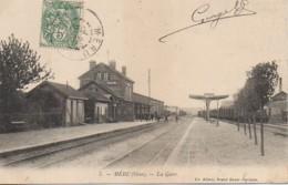 60 MERU  La Gare - Estaciones Con Trenes