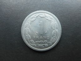 Central African States 1 Franc 1976 - República Centroafricana