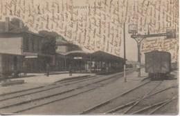63 ARVANT  La Gare - Estaciones Con Trenes