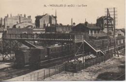 78 HOUILLES  La Gare - Estaciones Con Trenes