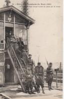 Grève Des Cheminots Du Nord 1910 Poste D'éguillage Occupé Par La Troupe - Sindacati