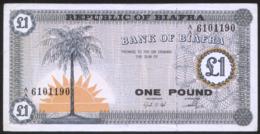 Biafra 1 Pound (1967) Pick 2 Fine - Bankbiljetten