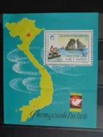 1988 BLOCY&T N° 43A ** - ROCHERS EN MER A QUANG MINH - Vietnam
