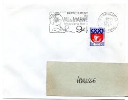 VAL De MARNE - Dépt N° 94  L'HAY LES ROSES 1967 = FLAMME Codée = SECAP  ' N° De CODE POSTAL / PENSEZ-Y ' - Zipcode