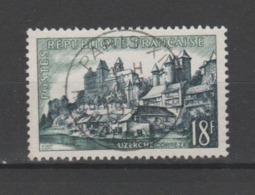 FRANCE / 1955 / Y&T N° 1040 : Uzerche (Corrèze) - Oblitération Du 26/07/1957. SUPERBE ! - France