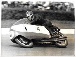 Photo...24 X 18 Cm ...moto Gilera...L.Liberati... - Sport